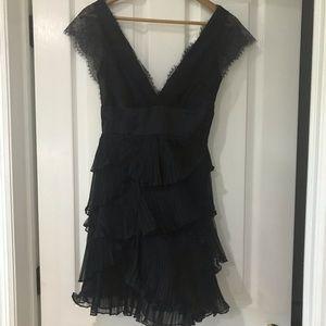 BCBGMAXAZRIA NWOT Size XS exquisite black dress